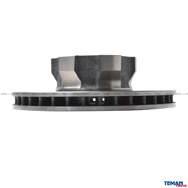 Купить Гальмівний диск Mercedes-BenzFEBI BILSTEIN 07508 Мерседес Бенц t2/ln1 c бортовой платформой/ходовая часть