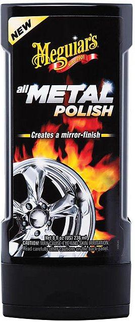 Многофункциональный полироль-очиститель металла ALL METAL POLISH, 236 мл