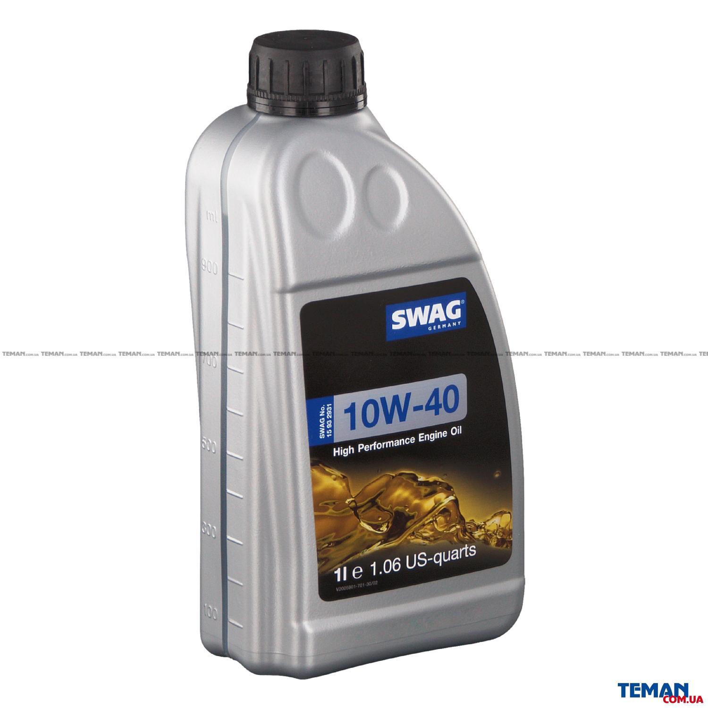 Моторное масло полусинтетическое д/авто SAE 10W40 1L