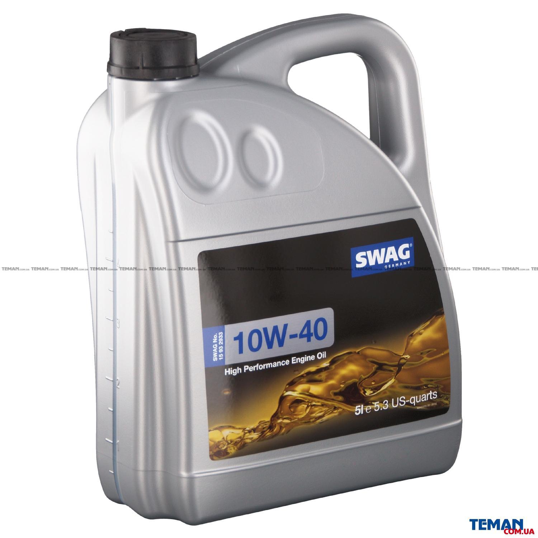 Моторное масло полусинтетическое д/авто SAE 10W40 5L