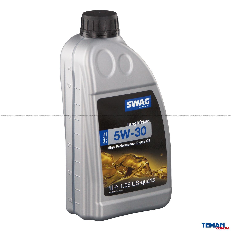 Моторное масло синтетическое д/авто SAE 5W30 Longlifeplus 1L