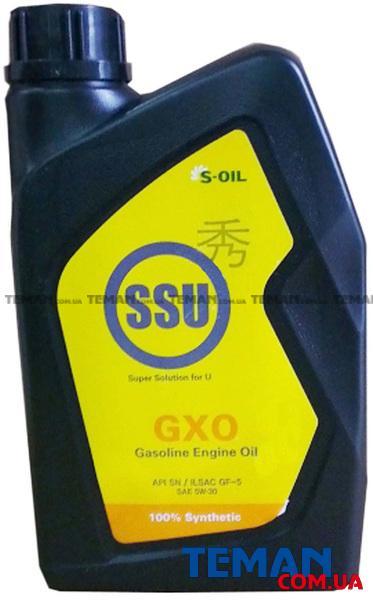 Синтетическое моторное масло SSU GXO 5W30, 1 л