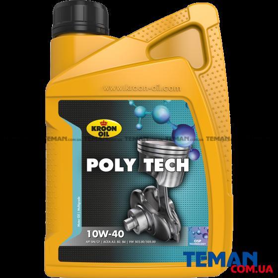 Олива моторна Poly Tech 10W-40 1л