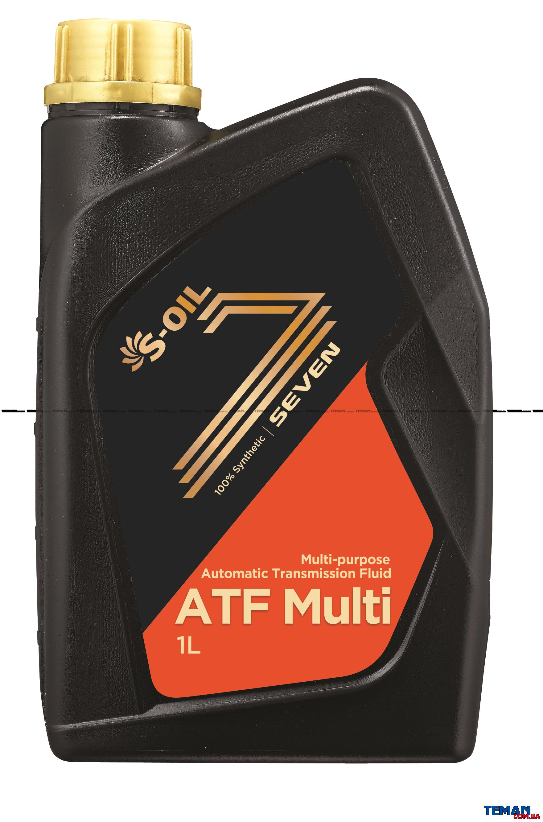 Синтетическое трансмиссионное масло SEVEN ATF MULTI, 1 л