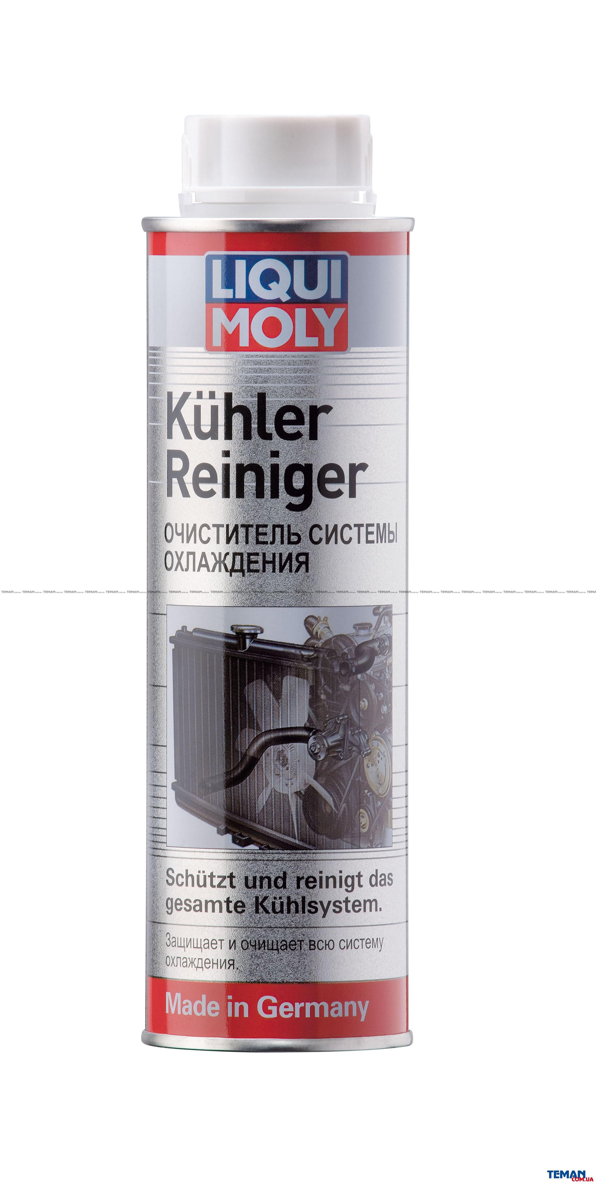 Купить Очиститель системы охлаждения Kuhler-Reiniger, 300 млLIQUI MOLY 1994
