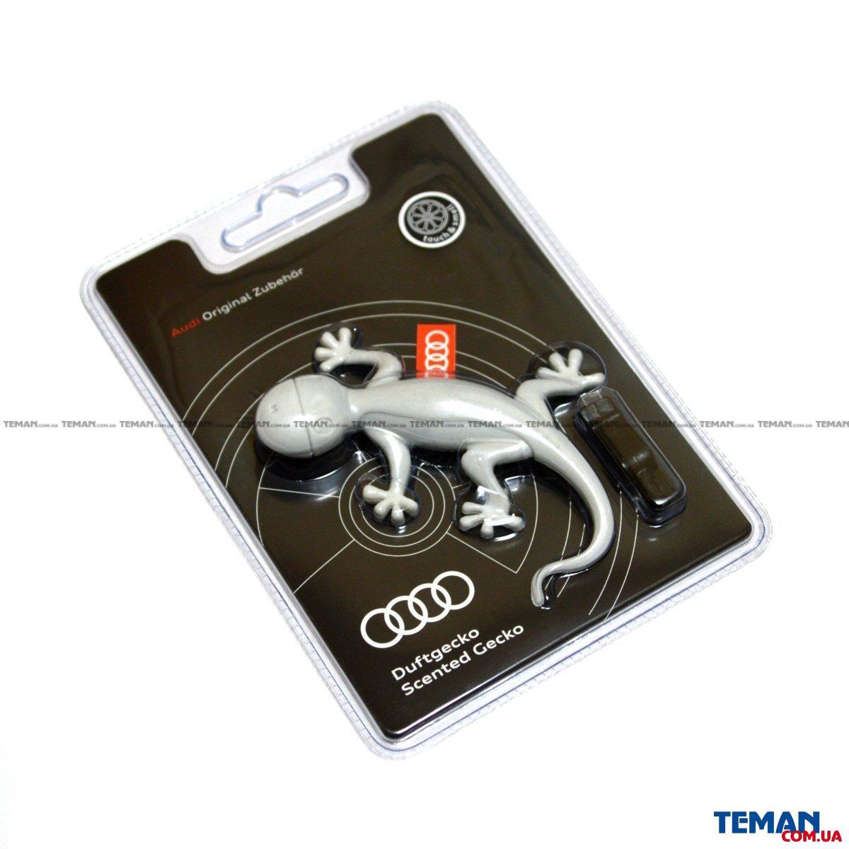 Купить Ароматизатор гекон (белый) — сосна/апельсин.VAG 000087009a