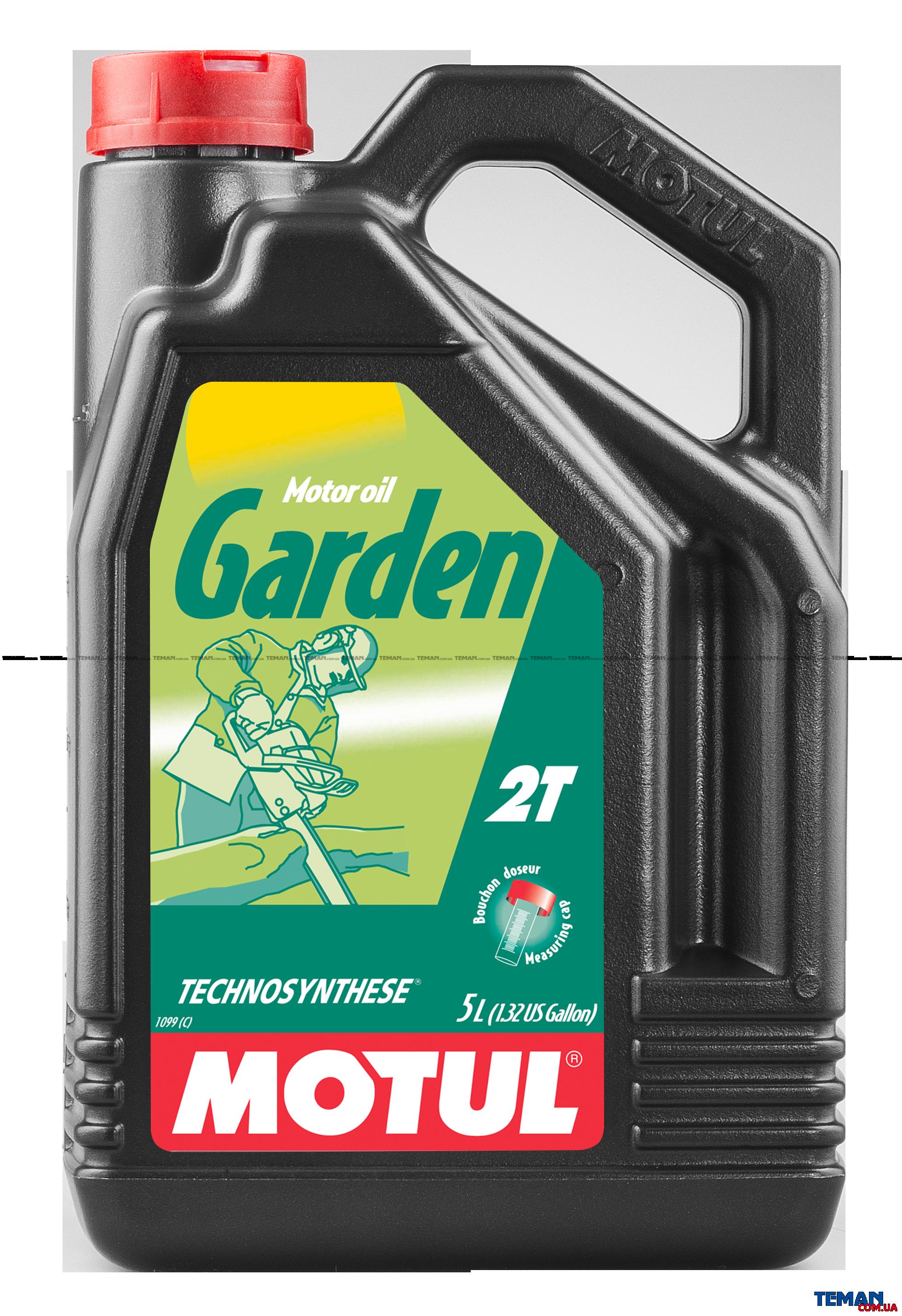 Масло для 2-х тактных двигателей Garden 2T, 5 л