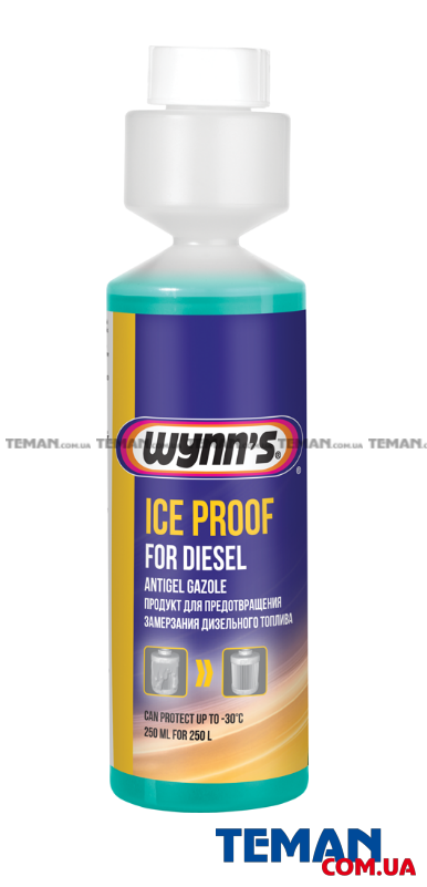 Присадка ICE PROOF FOR DIESEL 250мл