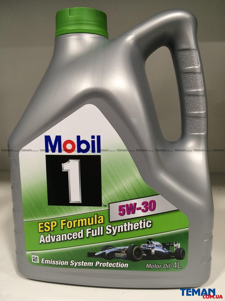 Купить Масло моторное синтетическое 1 ESP Formula 5W-30, 4лMOBIL 152053