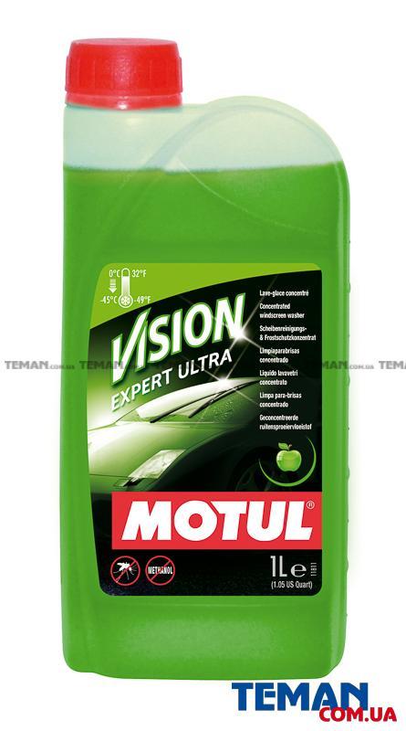 Концентрированный стеклоомыватель MOTUL VISION EXPERT ULTRA, 1 л
