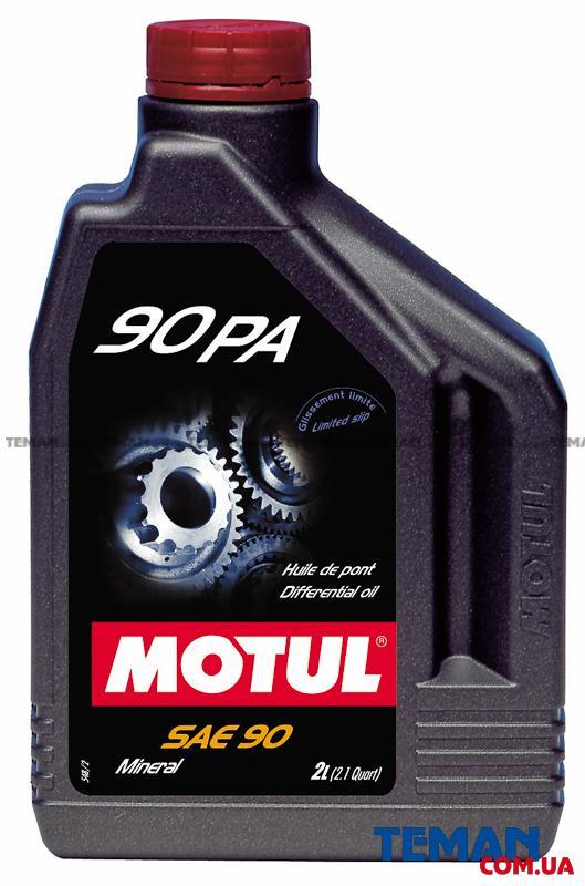 Трансмисионное масло минеральное 90 PA SAE 90, 2 л