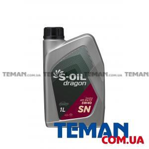Синтетическое моторное масло DRAGON SN 5W40, 1 л