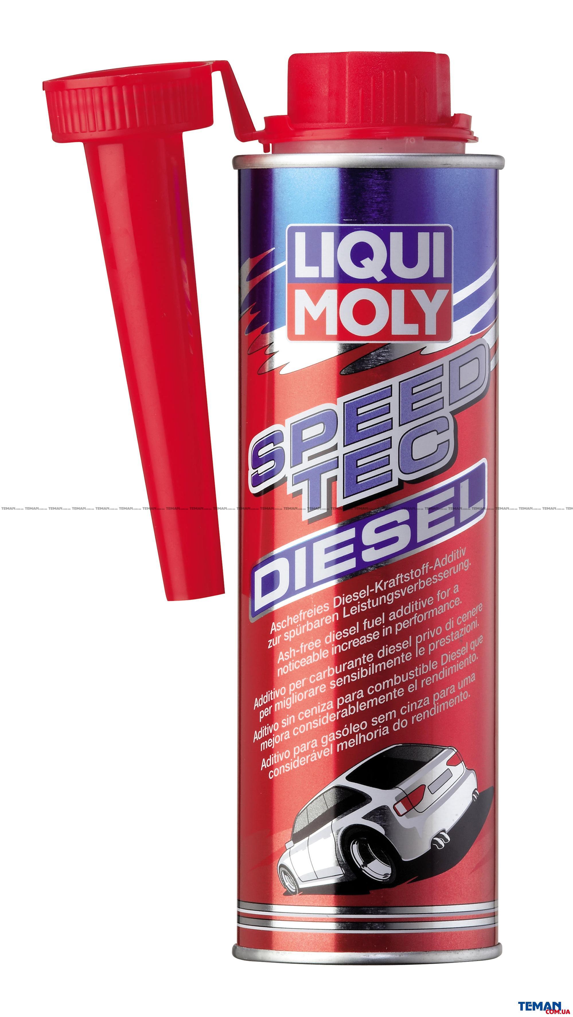 Присадка в дизель для повышения мощности Speed Tec Diesel, 250 мл