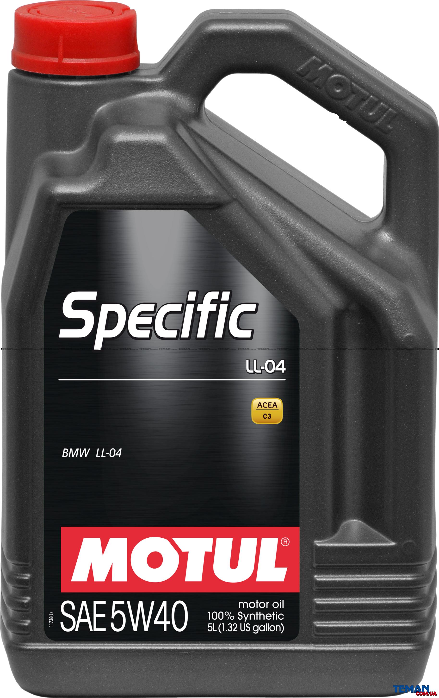 Синтетическое моторное масло SPECIFIC LL-04 5W-40, 5 л