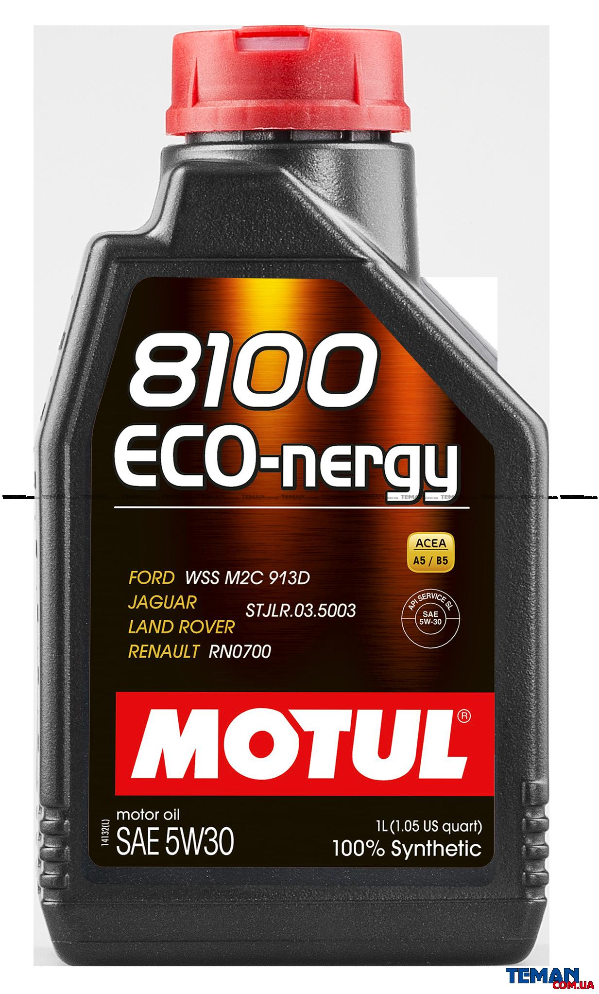 Синтетическое моторное масло 8100 Eco-nergy SAE 5W30, 1 л