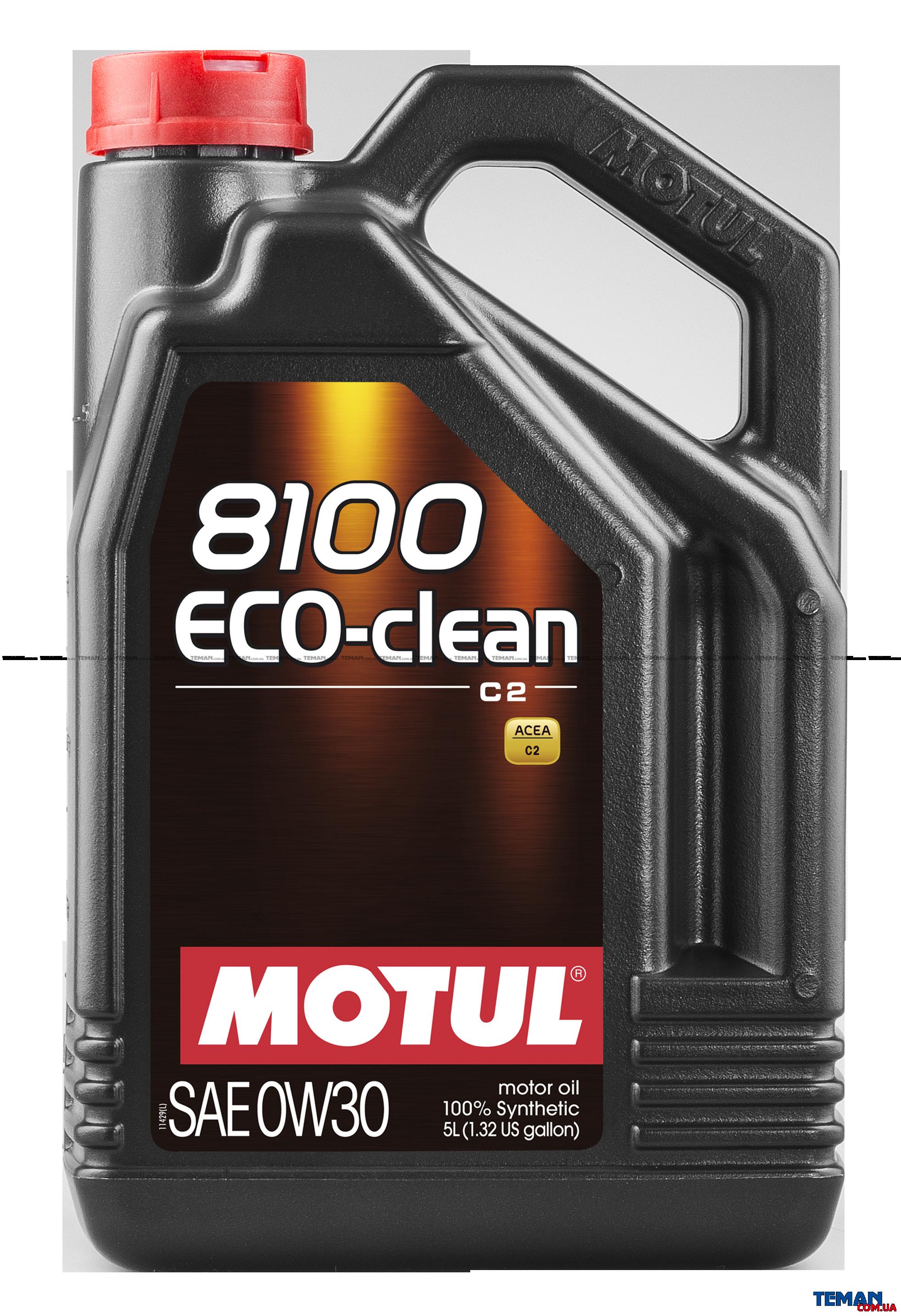 Синтетическое моторное масло  8100 Eco-clean SAE 0W30, 5 л