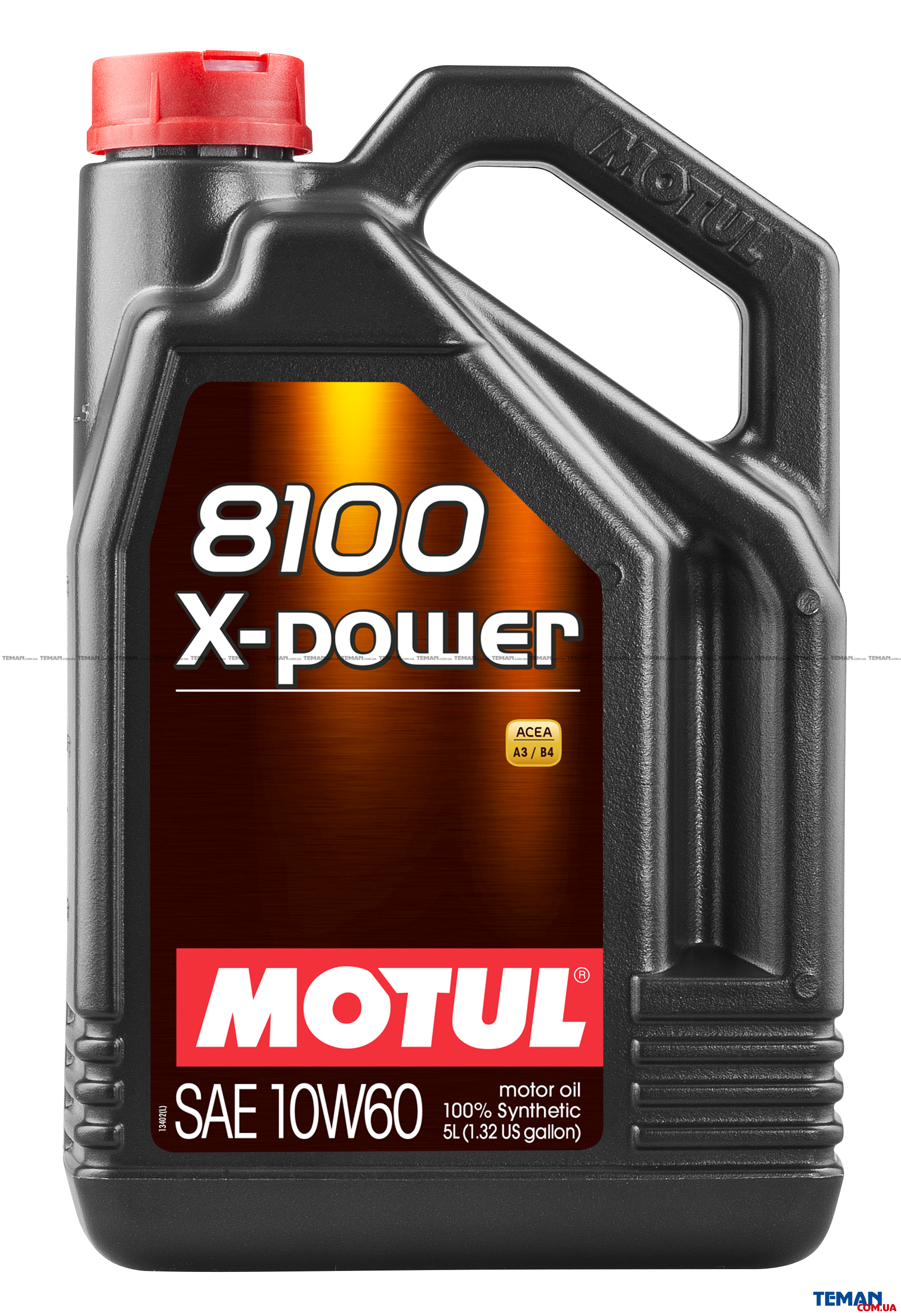 Синтетическое моторное масло 8100 X-power SAE 10W60, 5 л