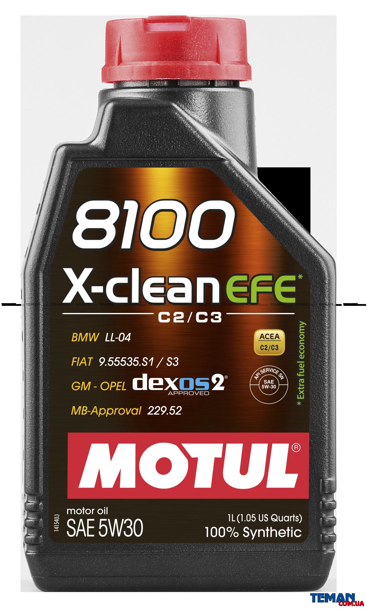 8100 X-clean EFE SAE 5W30 1Л