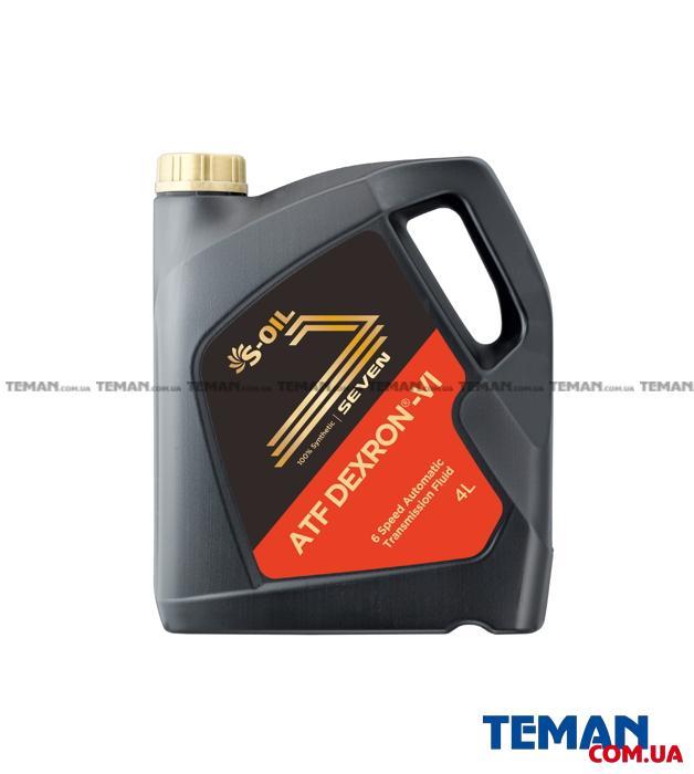 трнасмиссионное масло SEVEN ATF DEXRON VI , 4л