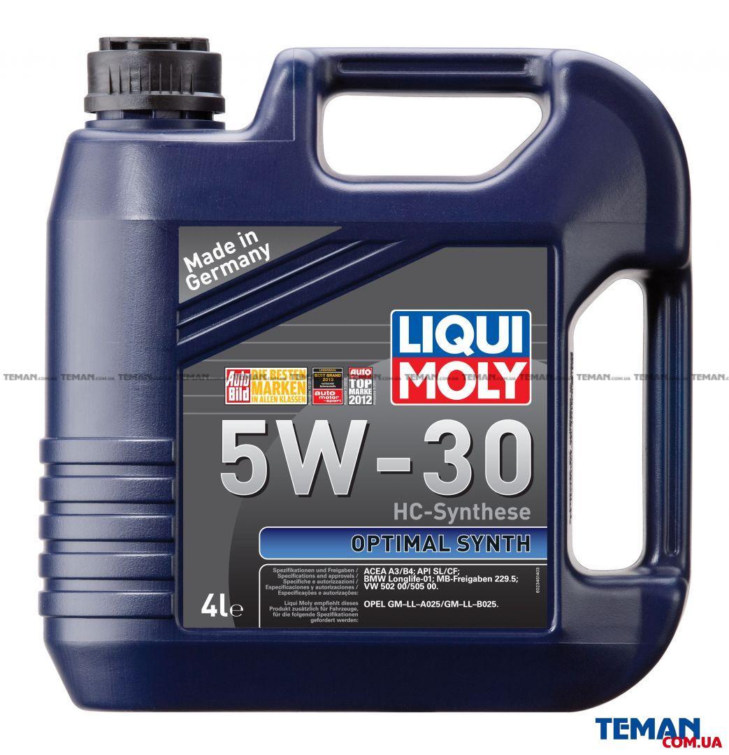 НС-синтетическое моторное масло Optimal Synth 5W-30