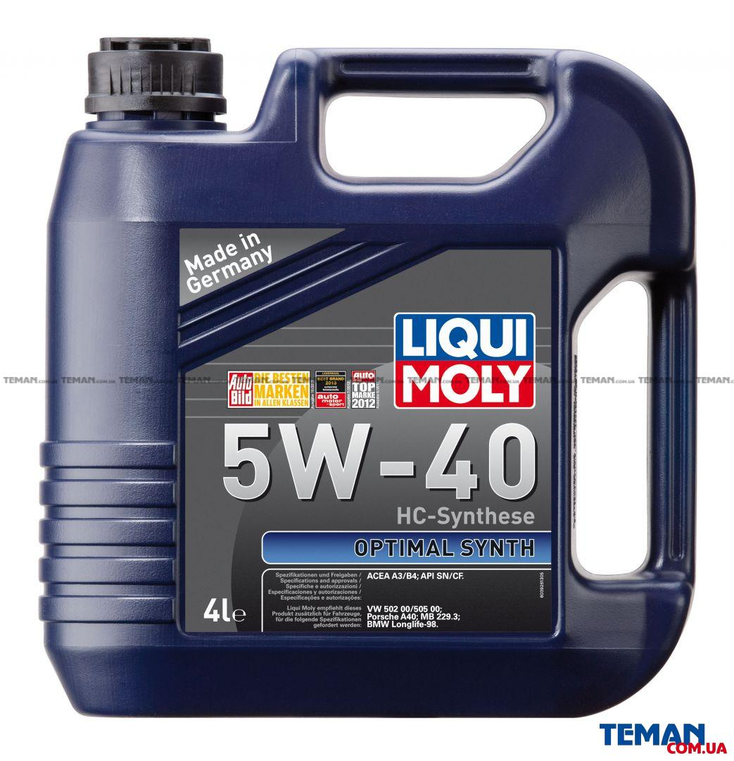 НС-синтетическое моторное масло Optimal Synth 5W-40