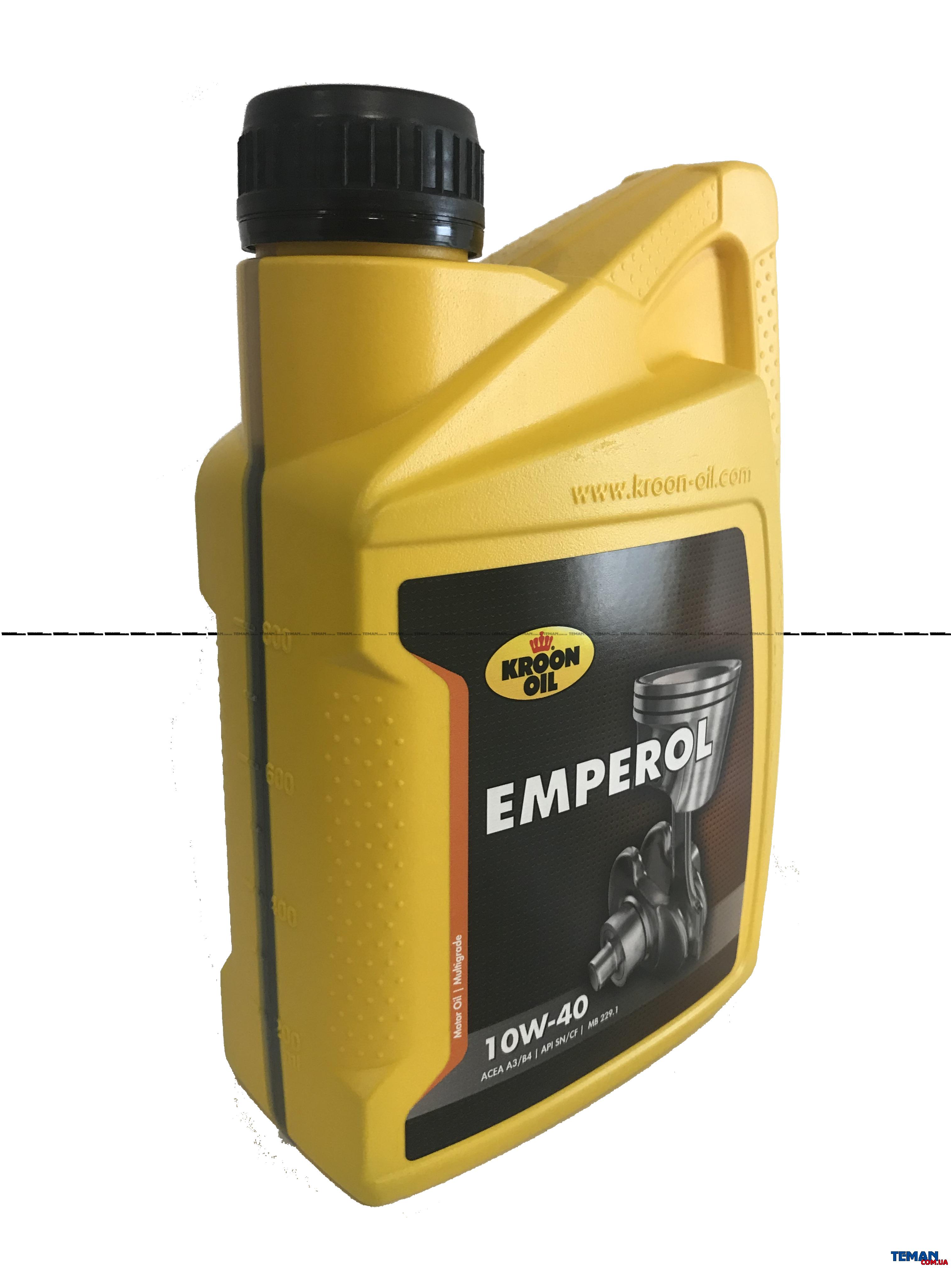 Универсальное моторное масло EMPEROL 10W-40, 1л