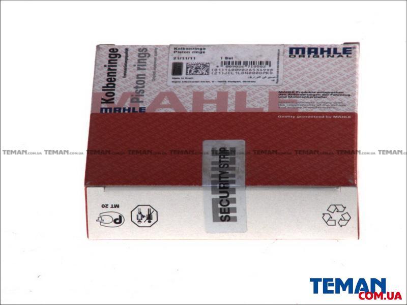 Купить Комплект поршневих кілець Mahle FORD/MAZDA MX-5,Focus C-Max,Mondeo 1,8 00-KNECHT 01568n0