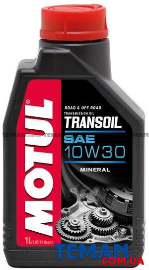 Трансмиссионое масло для 2-х тактных мотодвигателей TRANSOIL 10W-30, 1 л