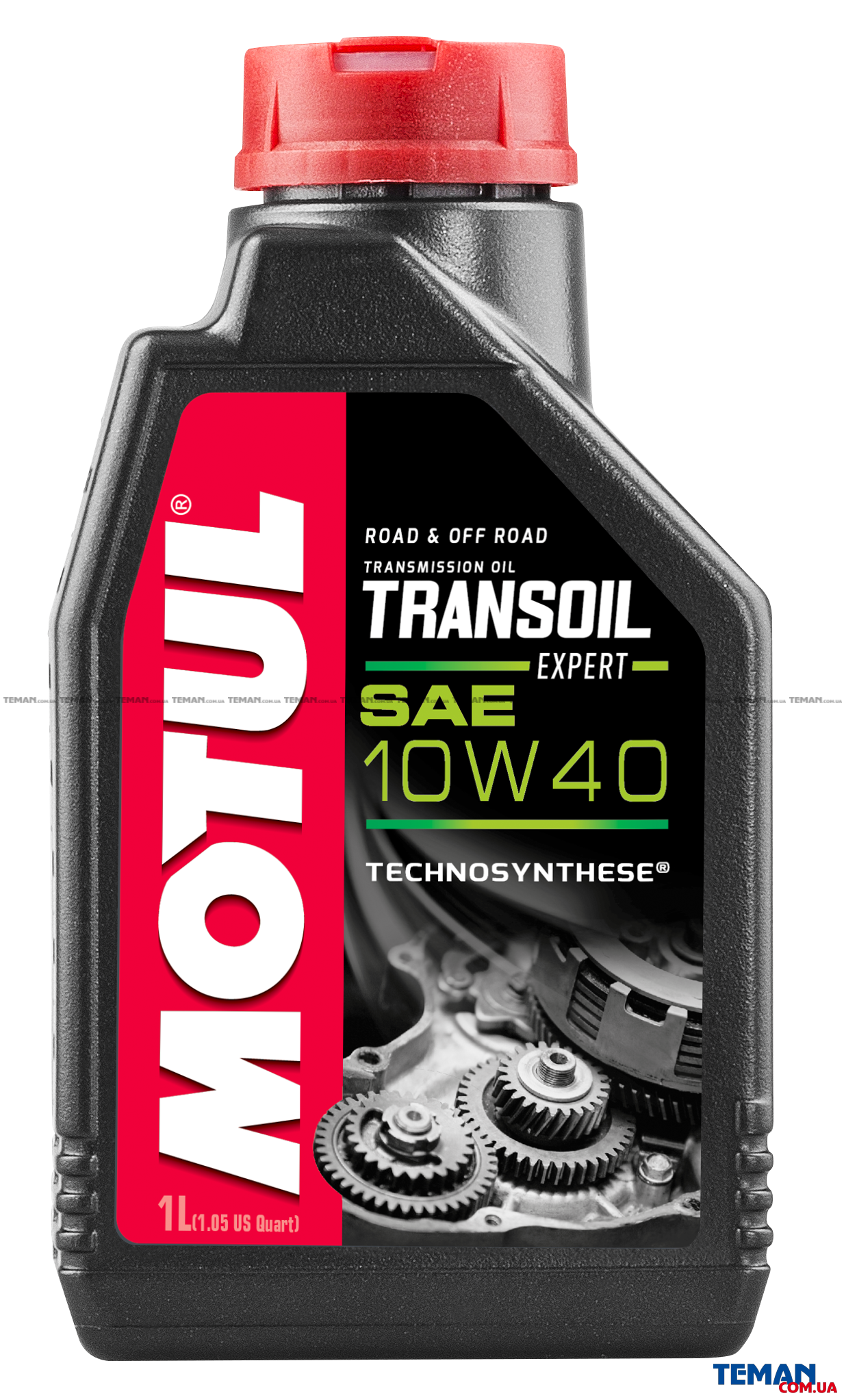 Трансмиссионое масло для 2-х тактных мотодвигателей TRANSOIL EXPERT 10W-40, 1 л