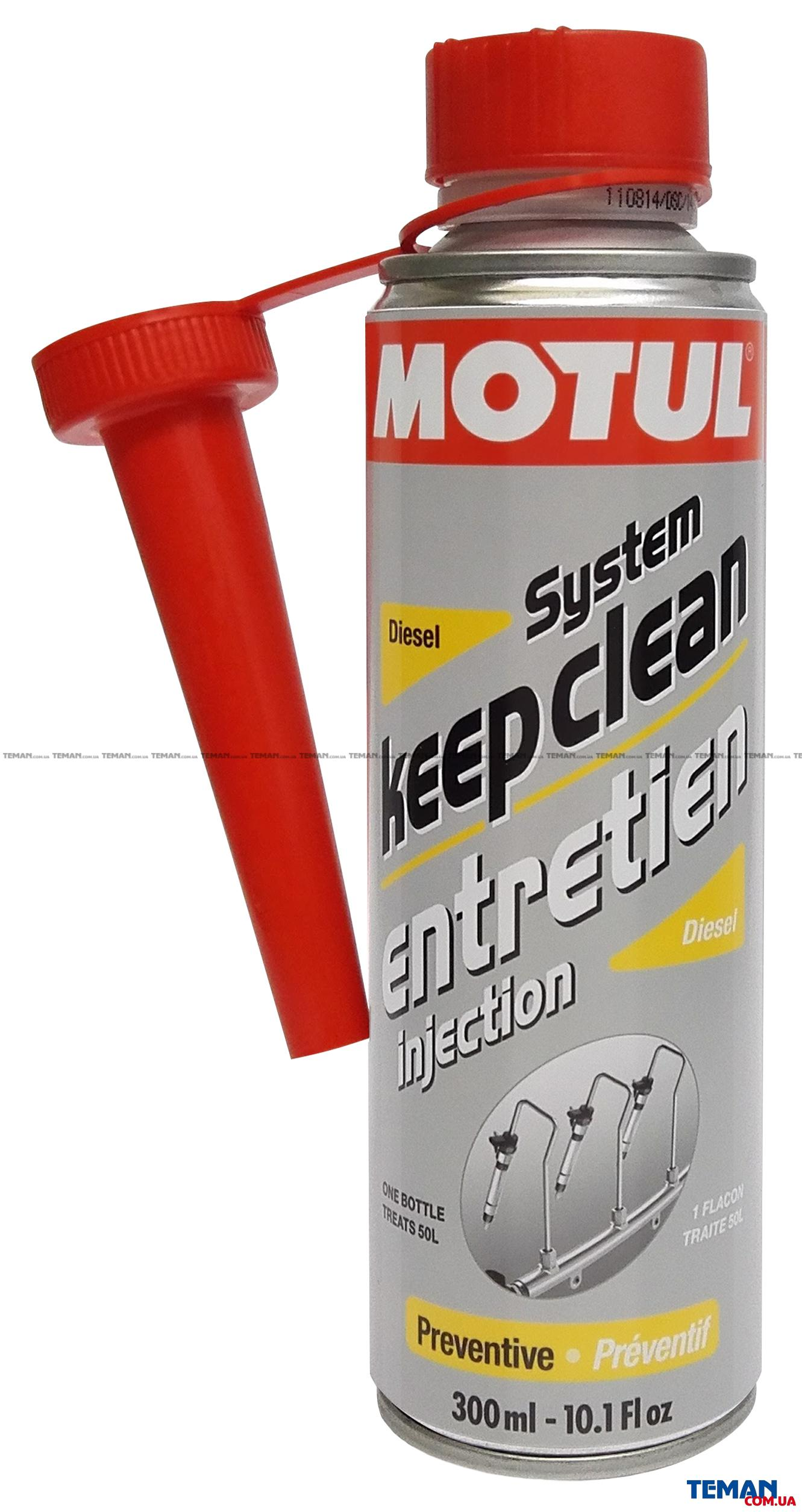 MOTUL System Keep Clean Diesel (300ml)