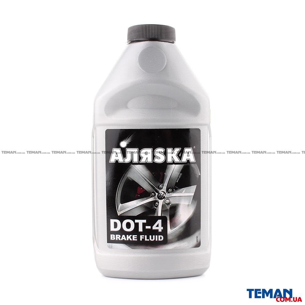 Тормозная жидкость Аляsка DOT-4 5437 390г