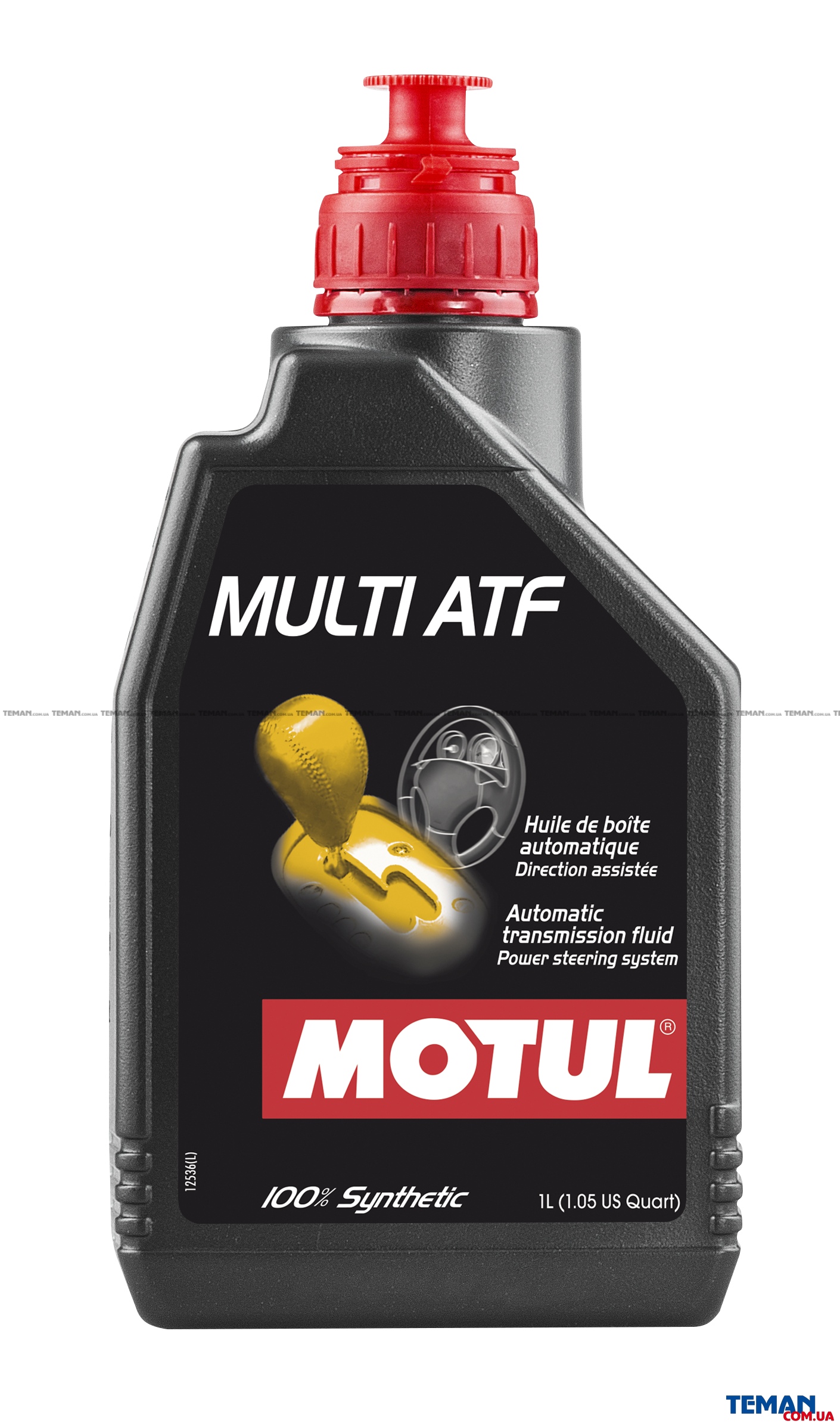Трансмисионное масло синтетическое Multi ATF, 1л