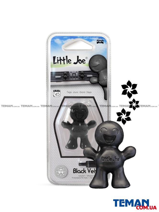 Ароматизатор на обдув (блістер) Little Joe BLACK VELVET (чорний)