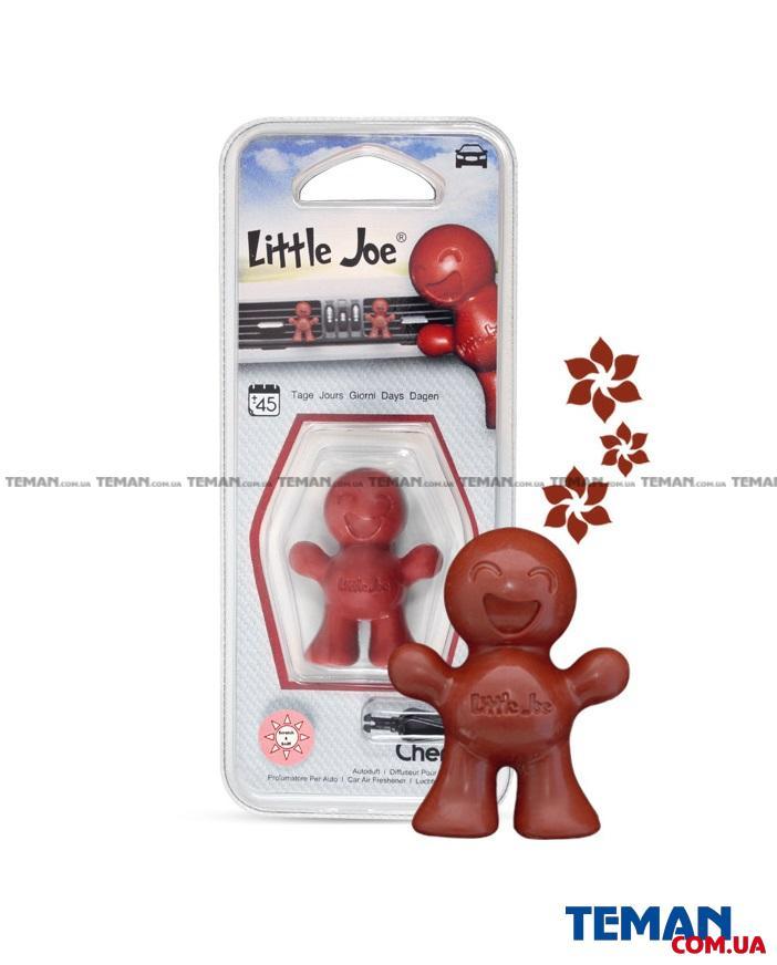 Ароматизатор на обдув Little Joe CHERRY (бордовий)