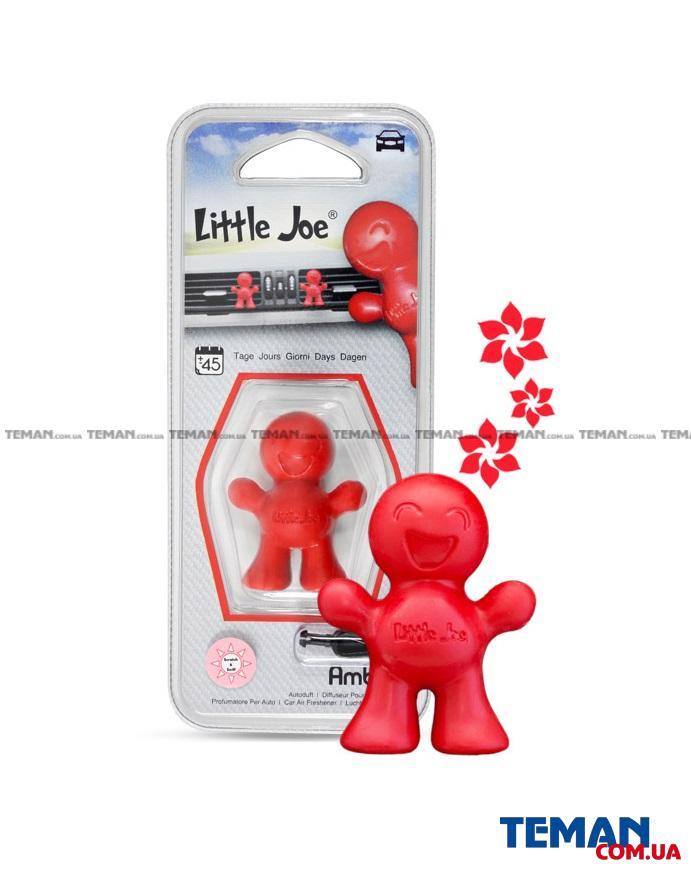 Ароматизатор на обдув Little Joe AMBER (червоний)