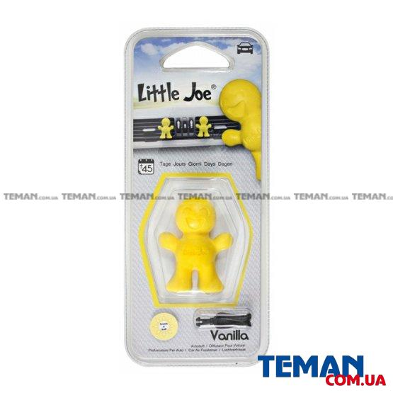 Ароматизатор на обдув Little Joe VANILLA (жовтий)