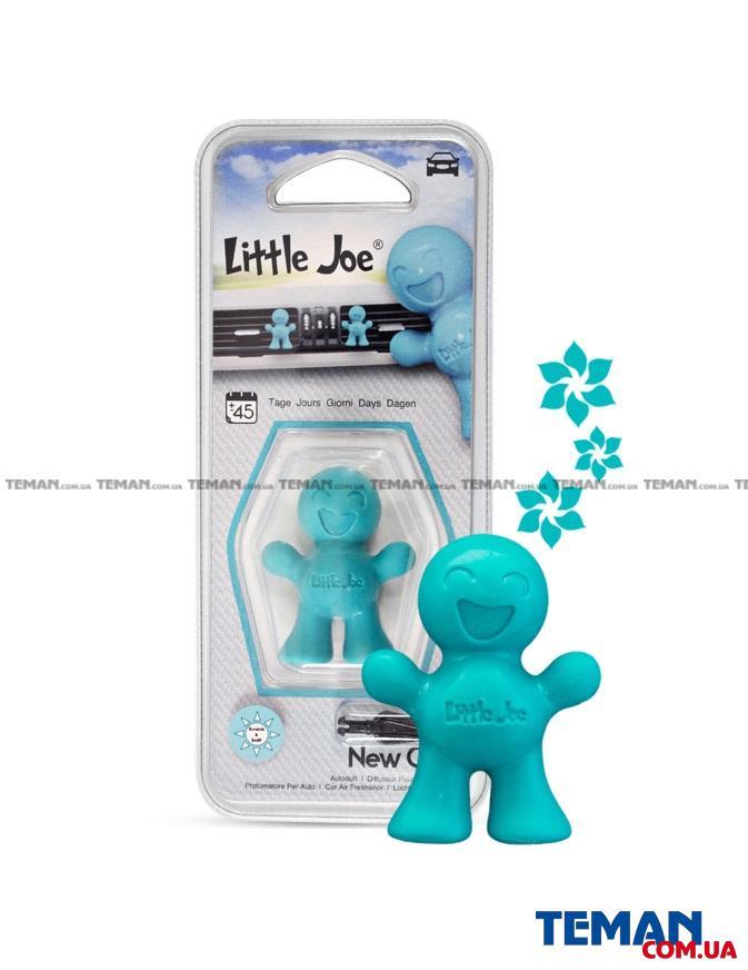 Ароматизатор на обдув Little Joe NEW CAR (бірюзовий)