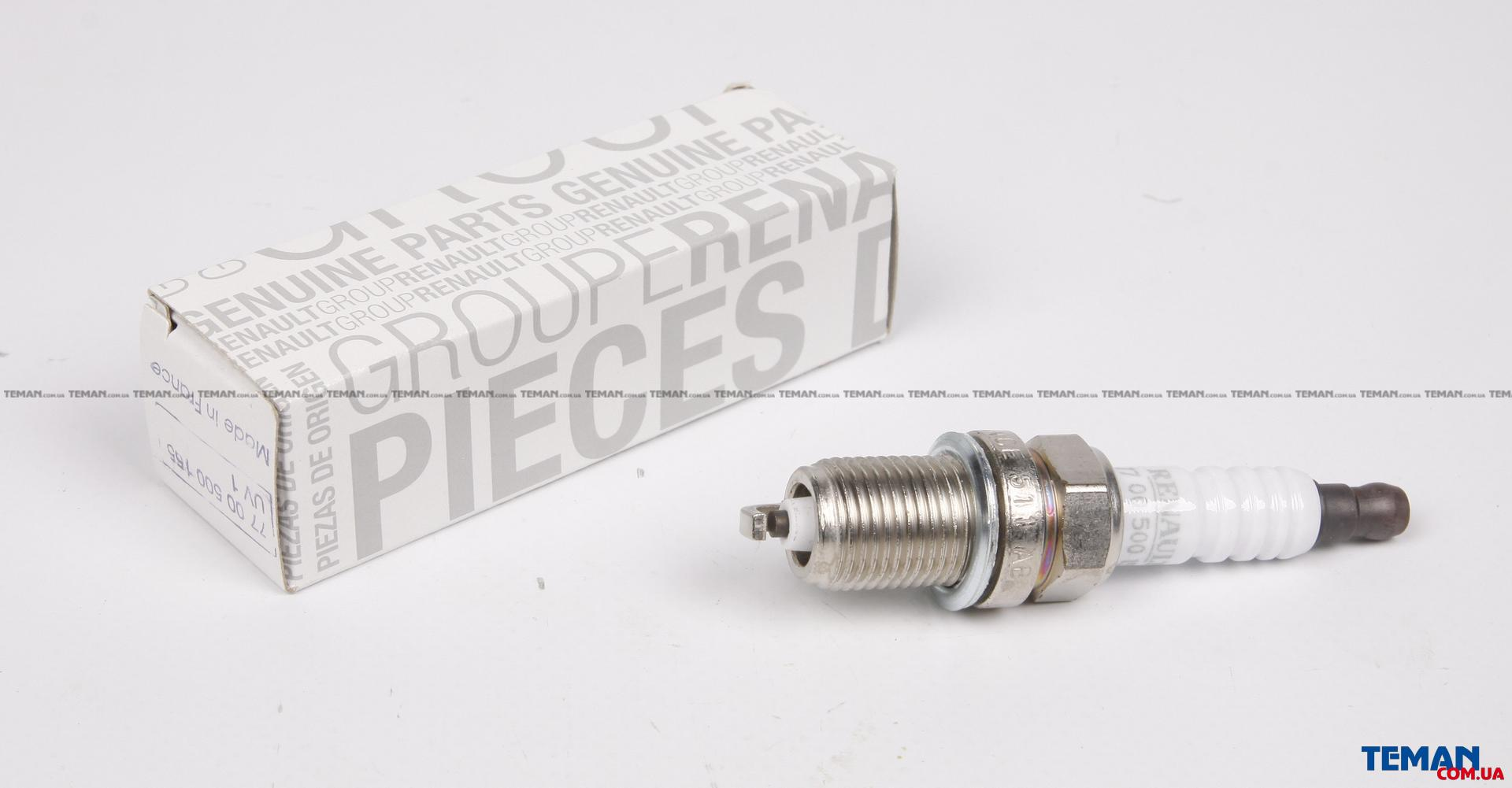 Свеча зажигания RENAULT/NISSAN LOGAN/MCV/CLIO/KANGOO/MEGANE 1 контакт