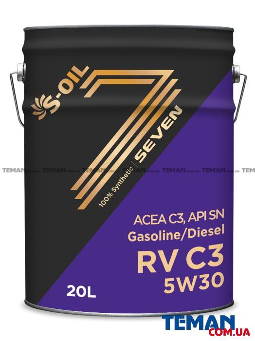 Универсально моторное масло Seven RV C3 5W30, 20л