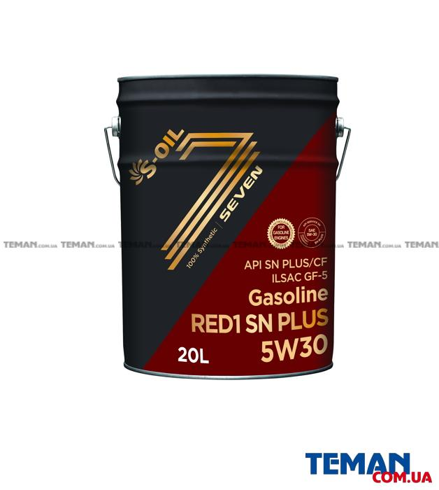 Синтетическое масло для двигателей Seven Red 1 SN Plus 5W30, 20л