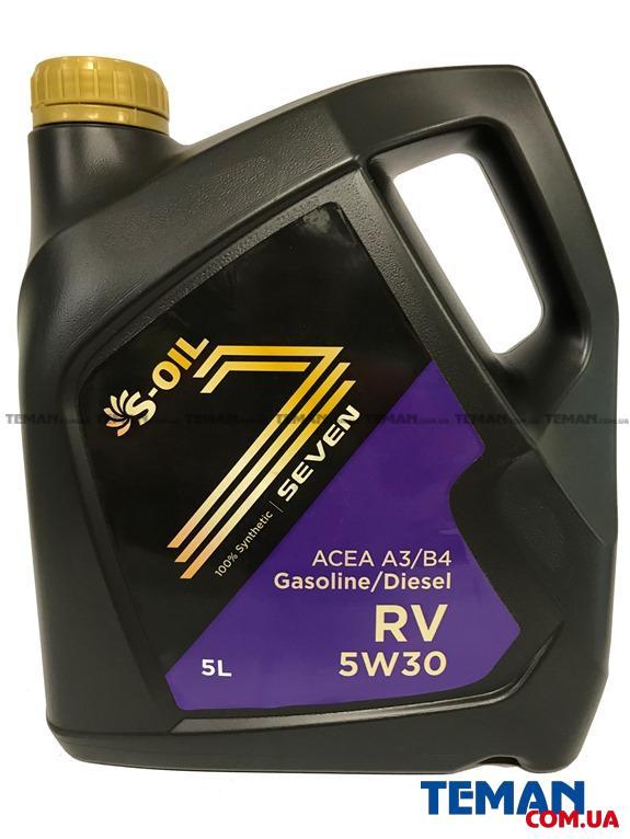 Моторное масло Seven RV 5W-30, 5л