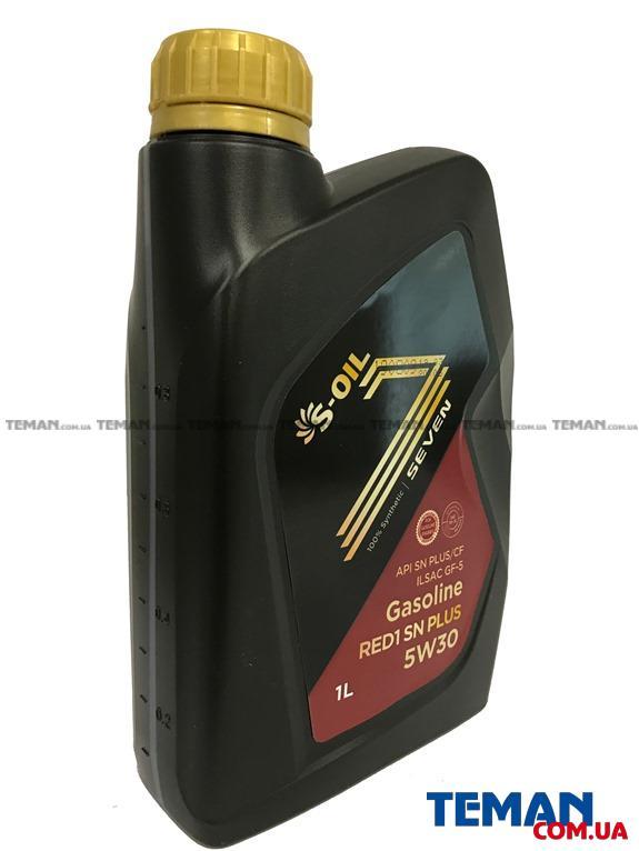 Синтетическое масло для двигателей Seven Red 1 SN Plus 5W30, 1л