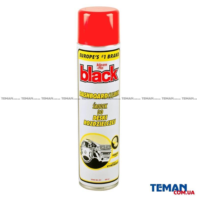 Очиститель пластика Black Dashboard Cleaner Lemon 600 мл