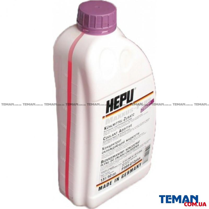 Антифриз Coolant Additives G12 Plus фиолетовый 1,5л