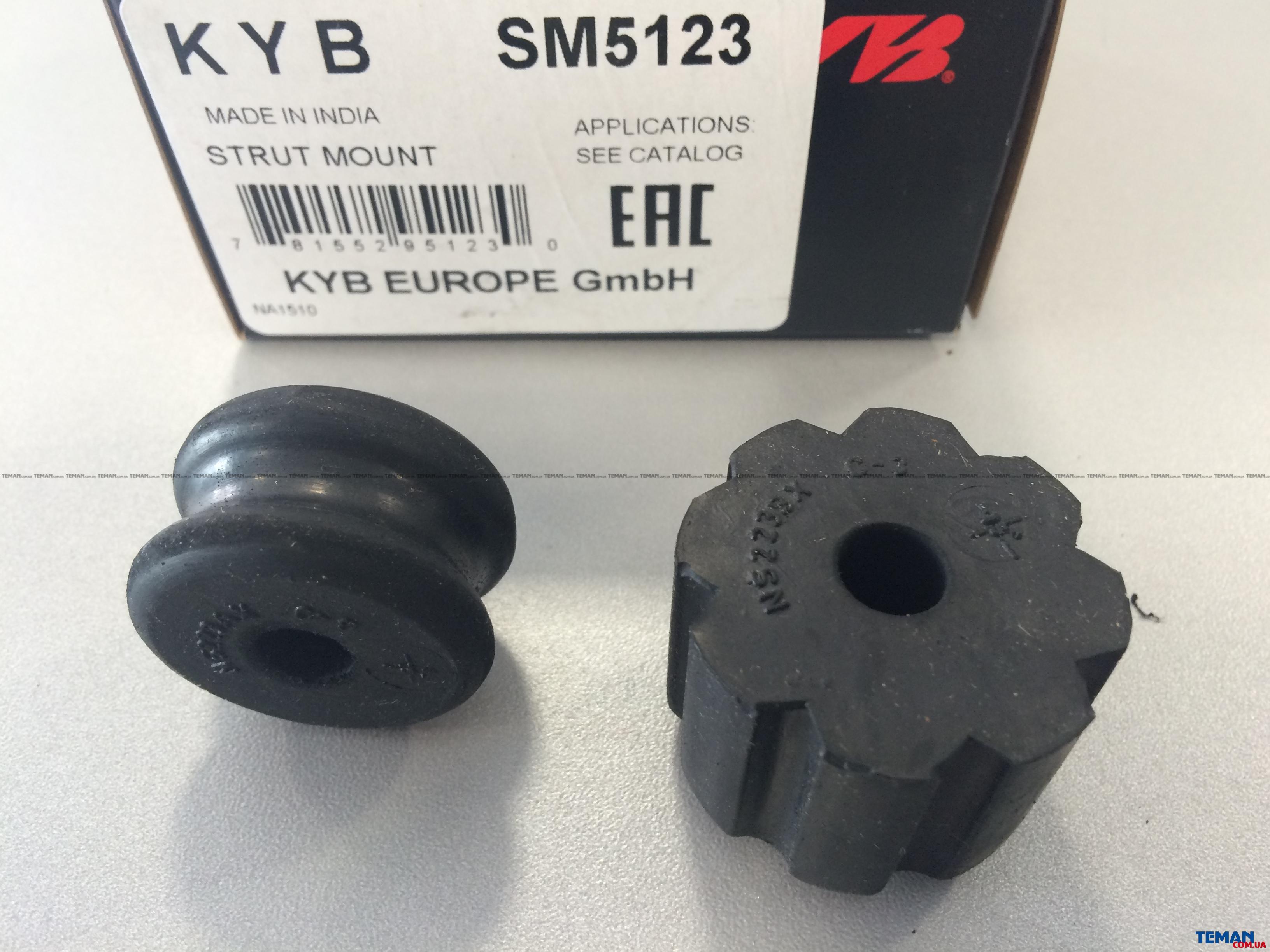 Купить Опора амортизатора гумометалева в комплектіKYB SM5123 Нисан almera i (n15)
