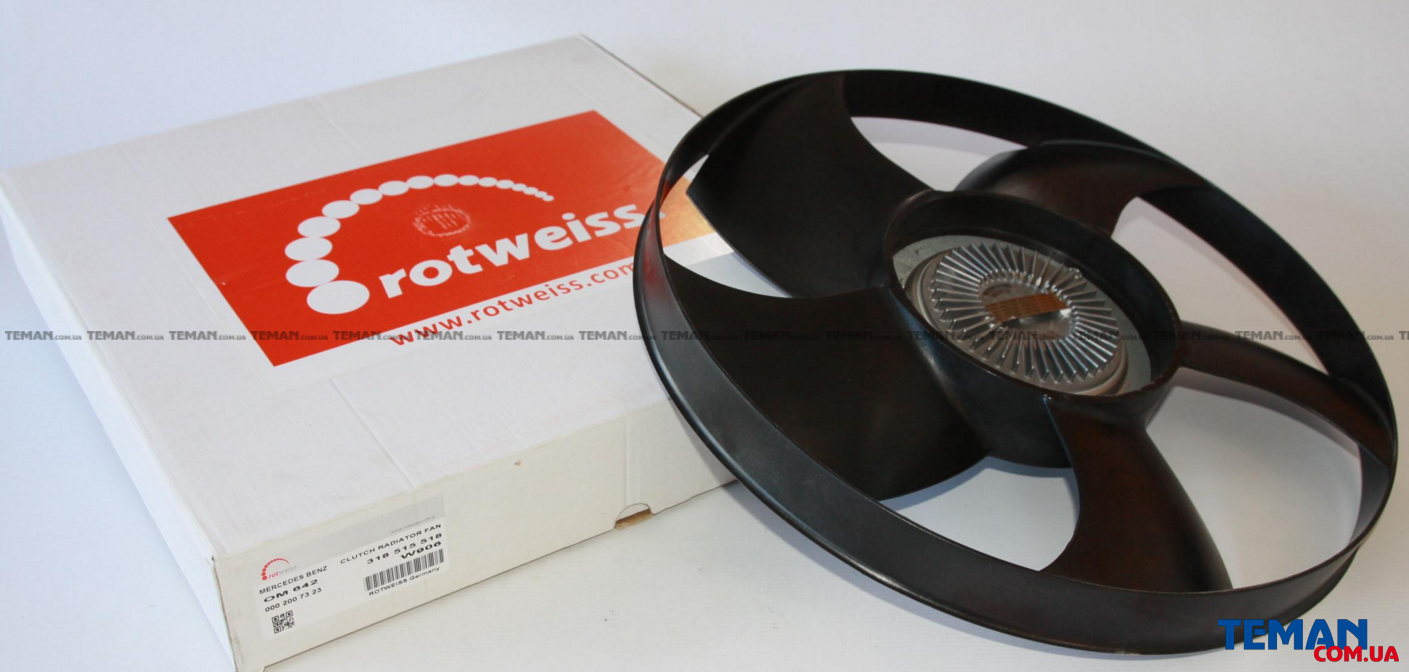 Купить Вискомуфта Sprinter 3.0CDI 06-ROTWEISS 0002007323