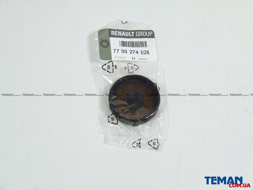 Заглушка блока цилиндров  маленькая DACIA/RENAULT/NISSAN DUSTER/LOGAN/CLIO/KANGOO/MEGANE/SCENIC/SYMBOL 16V