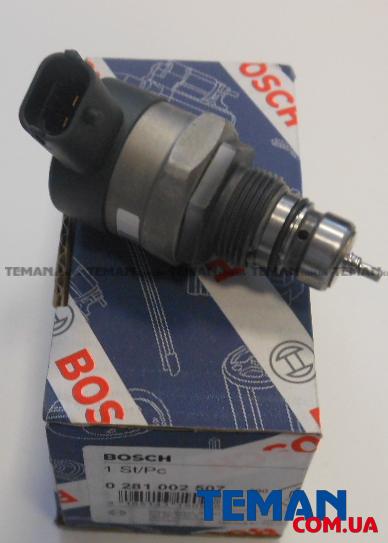 Купить Топливный клапан, Common-Rail-System (пр-во Bosch)                                                  BOSCH 0281002507