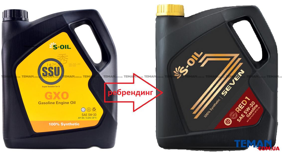 Купить Синтетическое моторное масло SSU GXO 5W30, 4 лS-OIL SSUGXO5W304