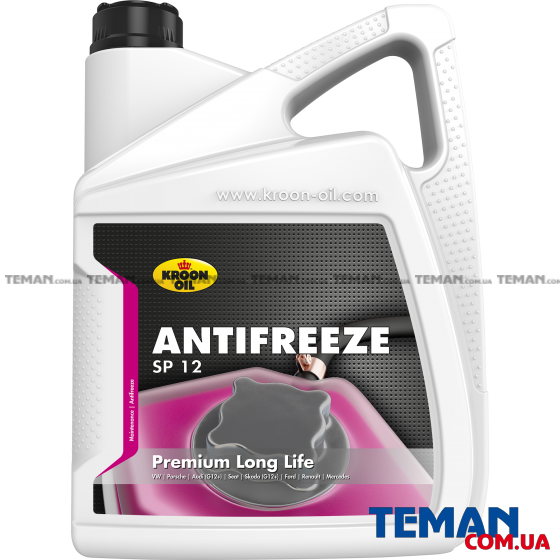 Антифриз, Kroon oil Antifreeze SP 12,  5 л